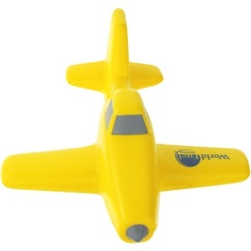 Crop Duster Plane Stress Ball Branded with Your Logo