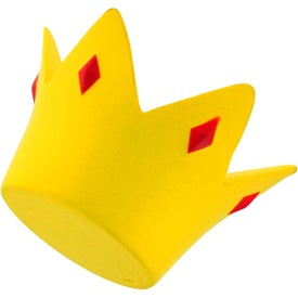 Crown Stress Ball with Your Slogan