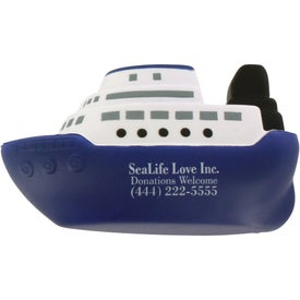 Company Cruise Boat Stress Ball