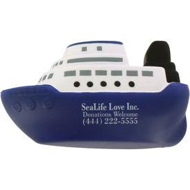 Company Cruise Boat Stress Ball