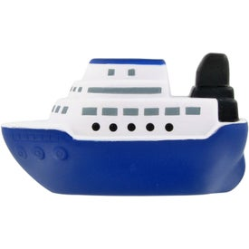 Printed Cruise Boat Stress Ball
