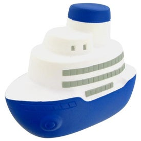 Branded Cruise Boat Stress Toy