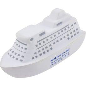 Personalized Cruise Ship Stress Ball