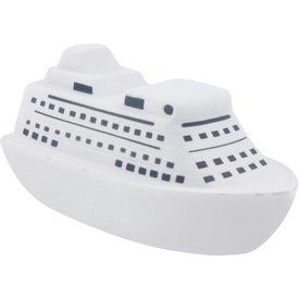 Company Cruise Ship Stress Ball
