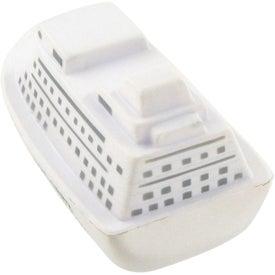 Imprinted Cruise Ship Stress Toy