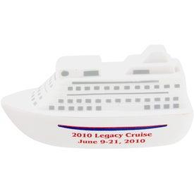 Logo Cruise Ship Stress Toy