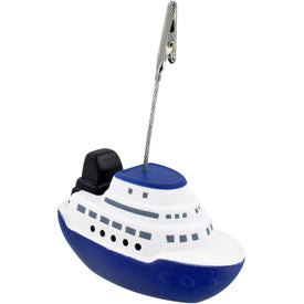 Cruise Boat Stress Ball Memo Holder Branded with Your Logo