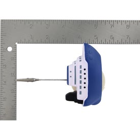 Cruise Boat Stress Ball Memo Holder Imprinted with Your Logo