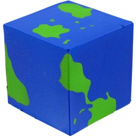 Promotional Cube Earth Stress Toy