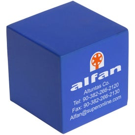 Personalized Cube Stress Ball