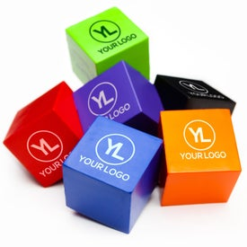 Cube Stress Ball for Marketing