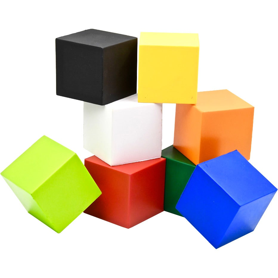Promotional Cube Stress Toy with Custom Logo for $1.04 Ea.