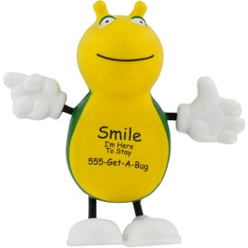 Cute Bug Figure Stress Ball