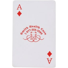 Deck of Cards Stress Ball for Promotion