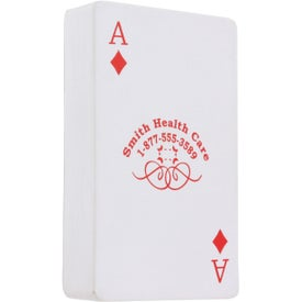 Promotional Deck of Cards Stress Ball