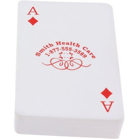 Custom Deck of Cards Stress Ball