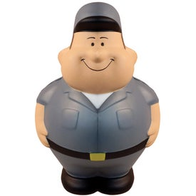 Delivery Bert Stress Reliever Imprinted with Your Logo