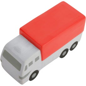Delivery Truck Stress Reliever for Advertising