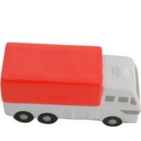 Delivery Truck Stress Reliever with Your Slogan