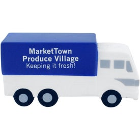 Company Delivery Truck Stress Ball