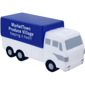 Personalized Delivery Truck Stress Ball