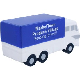 Advertising Delivery Truck Stress Ball