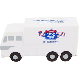 Personalized Squishy Delivery Truck Stress Toy