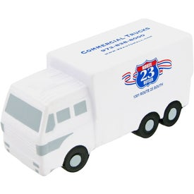 Logo Custom Delivery Truck Stress Toy