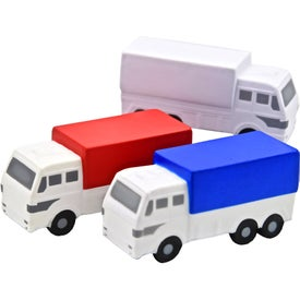 Branded Custom Delivery Truck Stress Toy