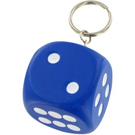 Dice Keychain Stress Toy