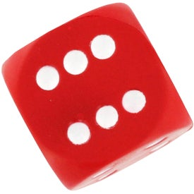 Advertising Dice Stress Reliever