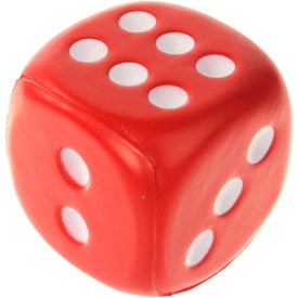 Custom Dice Stress Ball