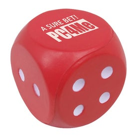 Promotional Dice Stress Shape