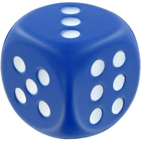 Dice Stress Toy with Your Logo