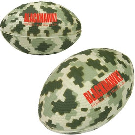 Camo/Digi Camo Football Stress Reliever