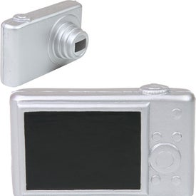 Digital Camera Stress Reliever with Your Slogan