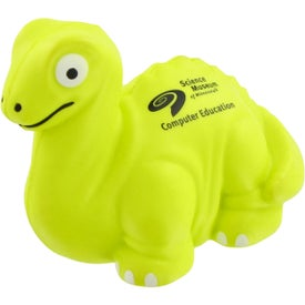 Dinosaur Stress Toy Branded with Your Logo