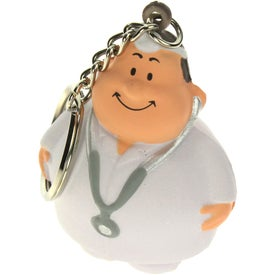 Company Doctor Bert Stress Reliever Keyring