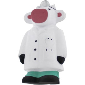 Imprinted Doctor Cow Stress Reliever