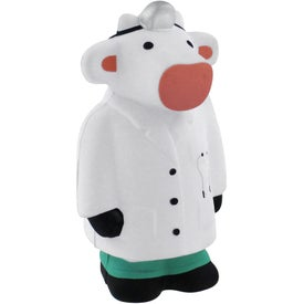 Doctor Cow Stress Reliever for Advertising
