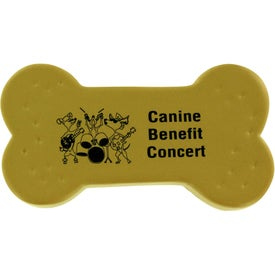 Dog Treat Stress Ball Printed with Your Logo