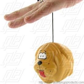 Logo Dog Ball Yo-Yo Stress Ball