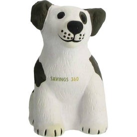 Branded Dog Stress Reliever with Sound