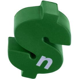 Advertising Dollar Sign Stress Reliever