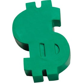 Dollar Sign Stress Ball for Your Company