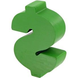 Customized Dollar Sign Stress Toy