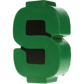 Dollar Sign Stress Ball for Your Organization