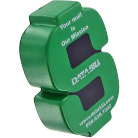 Dollar Sign Stress Ball with Your Slogan