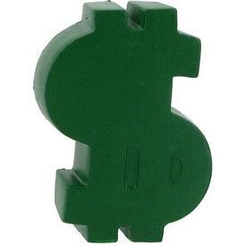 Dollar Sign Magnet Stress Ball