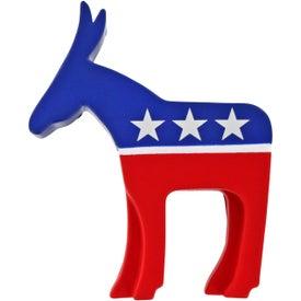 Promotional Democratic Donkey Stress Ball